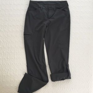 Eddie Bauer Women's Athletic Pants Grey Size 2